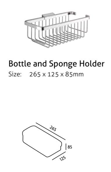 Bottle and Sponge Holder