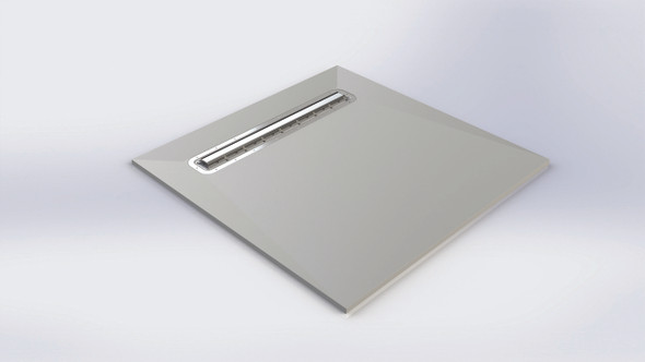 Aqua-Dec Linear 4 - 600mm Waste