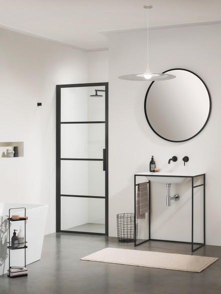 Soho Glass Panel - Hinged Door for Alcove