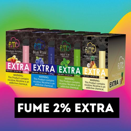 Fume 2% EXTRA Wholesale Box of 10