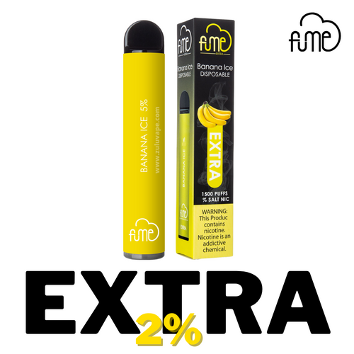 Fume 2% EXTRA Disposable Vape 1500 Puffs