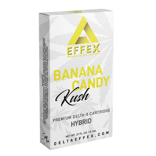 Delta Effex Banana Candy Kush Delta 8 Cartridge