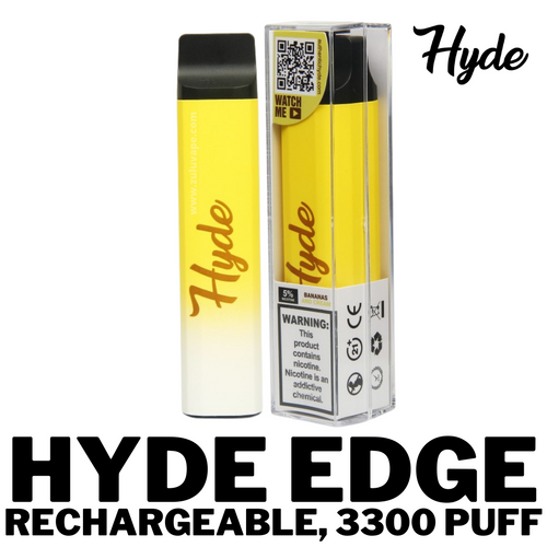 Hyde Edge Rechargeable 3300 Puff.