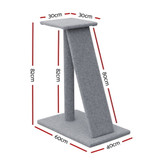 i.Pet Cat Tree 82cm Trees Scratching Post Scratcher Tower Condo House Furniture Wood Slide