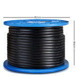 Twin Core Wire Electrical Automotive Cable 2 Sheath 450V 6MM 100M