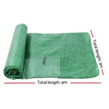Greenfingers Greenhouse 4MX3MX2M Green House Replacement Cover Only Garden Shed
