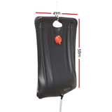 Bestway Shower Bag 20L Solar Heated Portable Water Pipe Outdoor Camping Travel