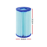Bestway Filter Cartridge 6X For Above Ground Swimming Pool 1500GPH Filter Pump