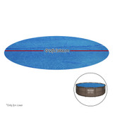 Bestway Solar Pool Cover Blanket For Swimming Pool 12ft 366cm Round Pools