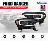 Headlights Sequential Indicator for Ford Ranger 2015-ON Wildtrak Raptor