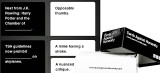 Cards Against Humanity Party Game US Edition