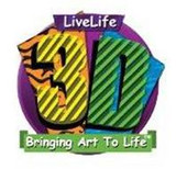3D Livelife Poster - Just Visiting