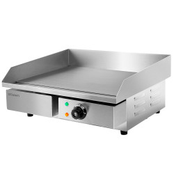 Devanti3000W Electric Griddle Hot Plate - Stainless Steel