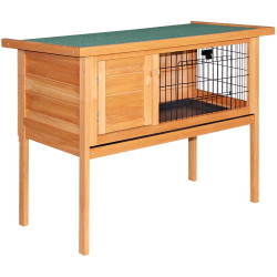 i.Pet 70cm Tall Wooden Pet Coop with Slide out Tray