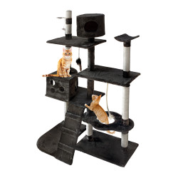 i.Pet Cat Tree 170cm Trees Scratching Post Scratcher Tower Condo House Furniture Wood