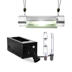 Greenfingers 600W HPS MH Grow Light Kit Magnetic Ballast TUBE Reflector Hydroponic Grow System