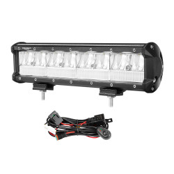 DEFEND 12inch CREE LED Work Light Bar Work Driving Lamp Combo Beam OffRoad 4WD