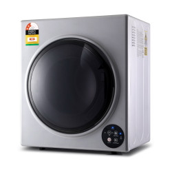 Devanti6kg Tumble Dryer Vented Full Automatic Wall Mountable Silver