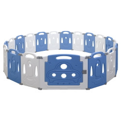 Baby Playpen Interactive Safety Gates Kid Child Toddler Fence 19 Panels Foldable