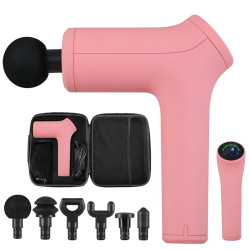 LCD Massage Gun Electric Massager Muscle Tissue 6 Heads Percussion Therapy AU