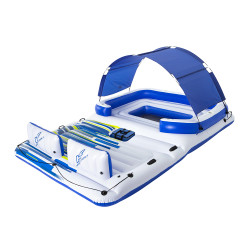 Bestway Inflatable Floating Float Floats Island LoungePool 6-personWater Fun