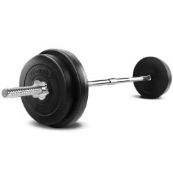 Everfit 38KG 168cm Barbell Set Weight Plates Bar Fitness Exercise Home Gym Bench Press