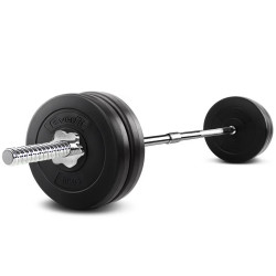 Everfit 48KG 168cm Barbell Set Weight Plates Bar Fitness Exercise Home Gym Bench Press
