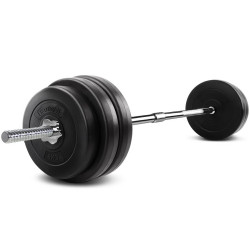 Everfit 58KG 168cm Barbell Set Weight Plates Bar Fitness Exercise Home Gym Bench Press