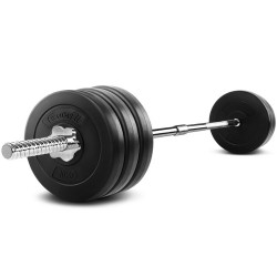 Everfit 68KG 168cm Barbell Set Weight Plates Bar Fitness Exercise Home Gym Bench Press