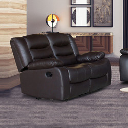 Fantasy Recliner Pu Leather 2R Brown
