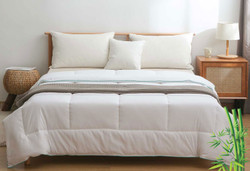 Queen Size Bamboo Soft All Seasons Quilt