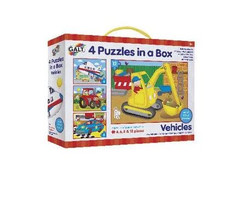 GALT 4 Puzzles in a box - Free Delivery within Australia