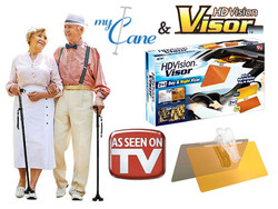 My Cane + HDVision 2in1 Visor Day and Night