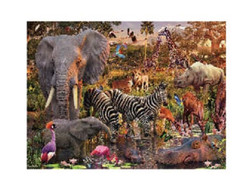 3D LiveLife Poster - Water Hole