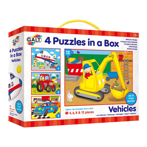 4 Puzzles in a Box Vehicles