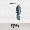 Industrial Pipe Rolling Clothing Rack | 2-Way