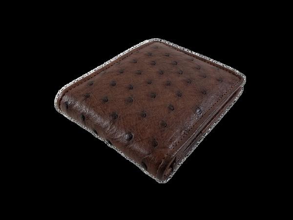 Ostrich Leather Wallet (Billfold)