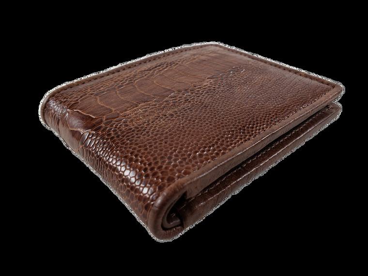Ostrich LegSkin Wallet Billfold