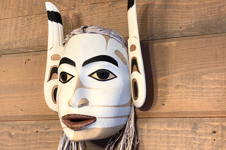 Arctic Tern Woman Mask