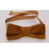 Mens corduroy bow tie