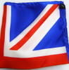 Union jack silk pocket square