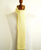 Skinny Knitted Wool Scarf Cream NEW