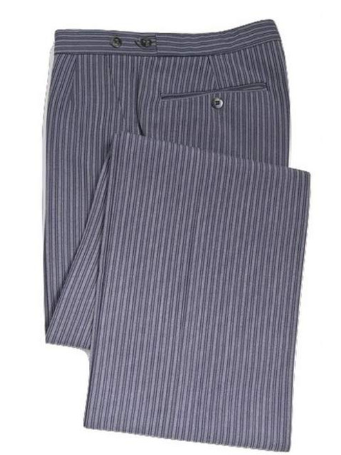 Pinstripe morning trousers