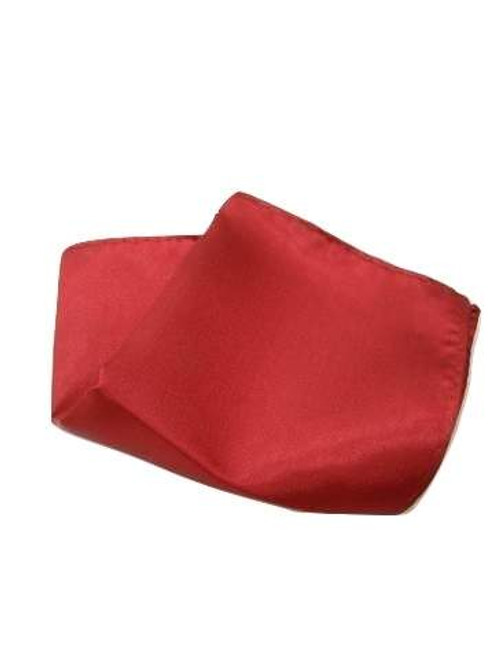 Burgundy red pocket square
