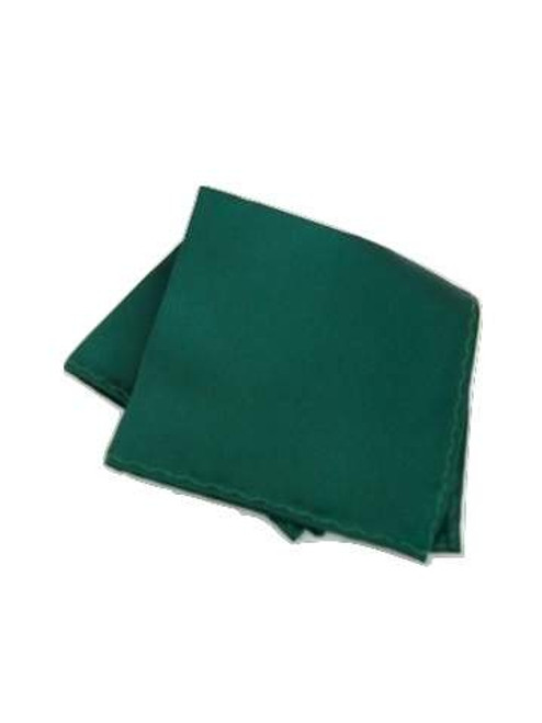 Dark green pocket square