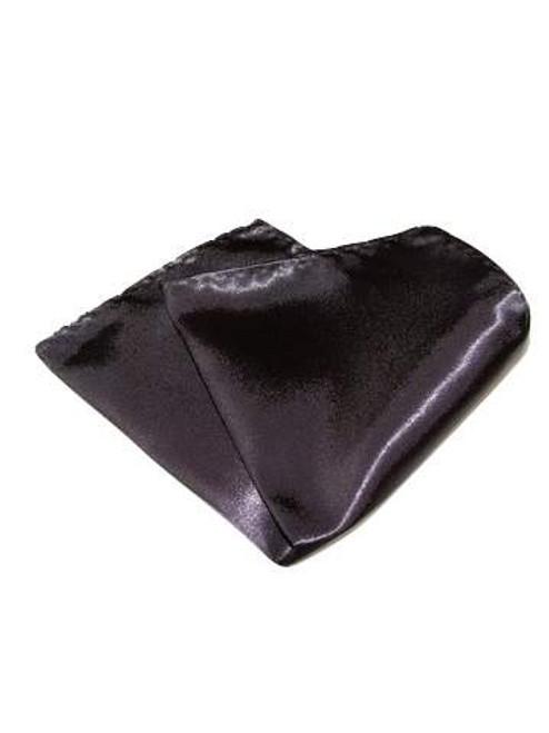 Dark grey pocket square