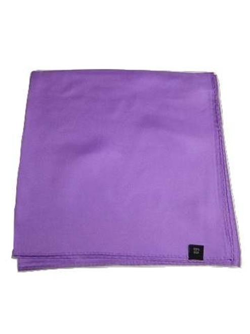 Mens purple silk handkerchief
