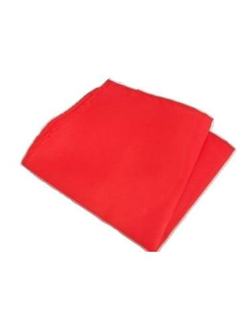 Red pocket square
