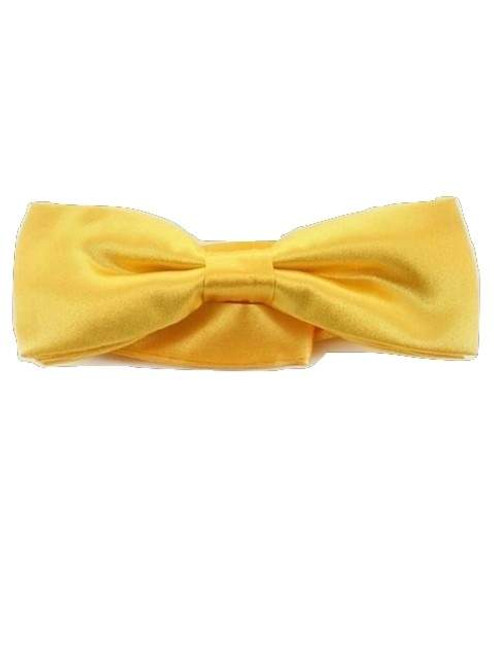 Bright yellow bow tie