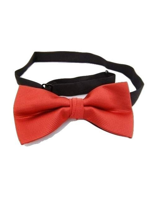 Ruby red bow tie